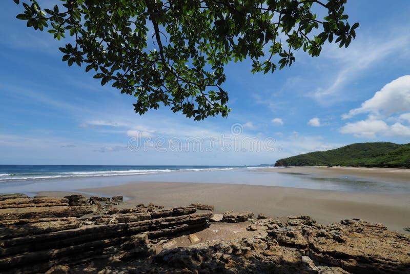 Playa Gr Coco, Nicaragua stock afbeeldingen