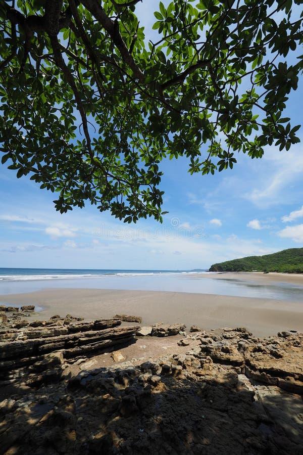 Playa Gr Coco, Nicaragua royalty-vrije stock foto
