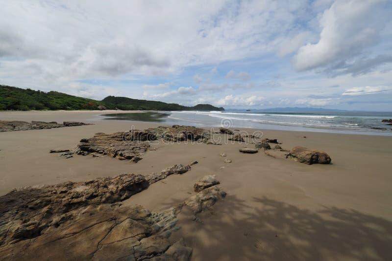 Playa Gr Coco, Nicaragua stock foto