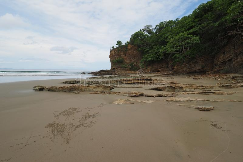Playa Gr Coco, Nicaragua royalty-vrije stock foto's