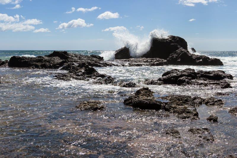 Playa grande, Costa Rica fotografia stock libera da diritti
