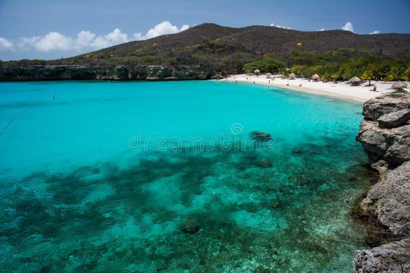 Playa Grandi Curacao royalty free stock photo