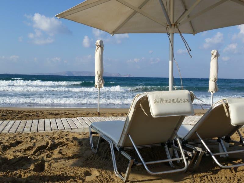 Playa Grecia imágenes de archivo libres de regalías