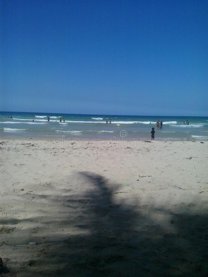 Playa Guacuco, Βενεζουέλα στοκ εικόνες με δικαίωμα ελεύθερης χρήσης