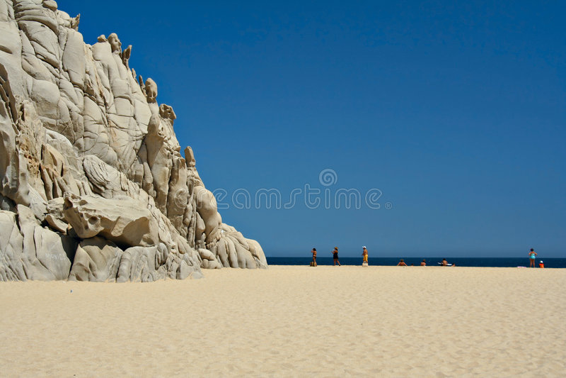 Playa hermosa fotografía de archivo libre de regalías