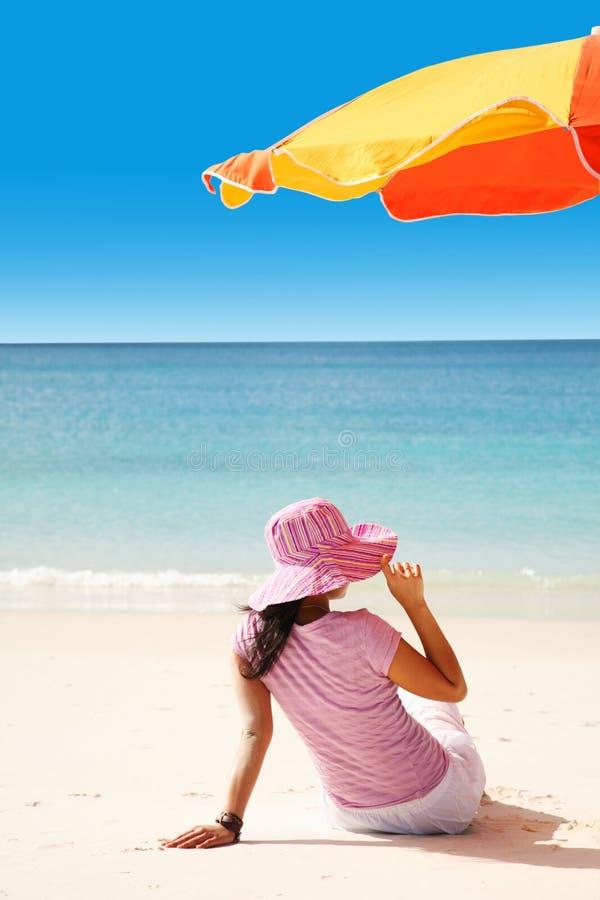 Playa hermosa de Whitehaven foto de archivo libre de regalías