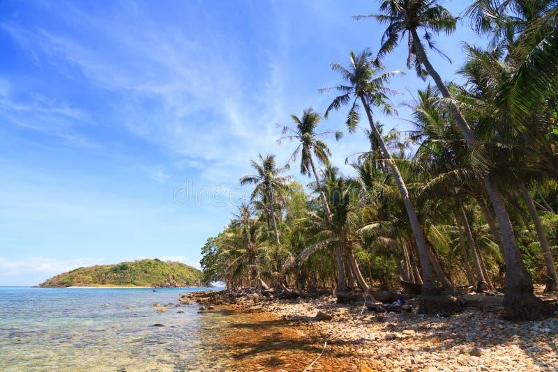 Playa hermosa en las islas de Nam Du, Vietnam imagen de archivo libre de regalías
