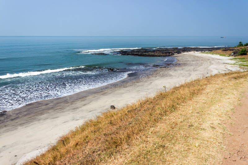Playa hermosa la India, Goa fotografía de archivo