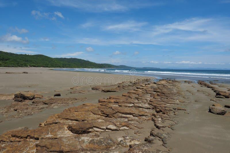 Playa Hermosa, Nicaragua, Midden-Amerika stock afbeeldingen