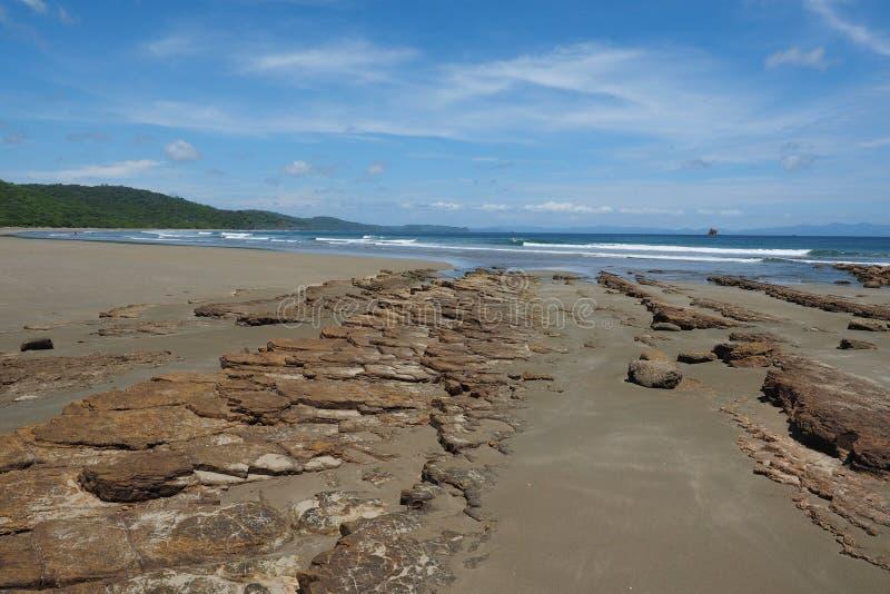 Playa Hermosa, Nicaragua, Midden-Amerika royalty-vrije stock fotografie