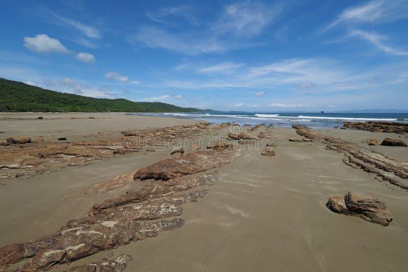 Playa Hermosa, Nicaragua, Midden-Amerika royalty-vrije stock afbeelding