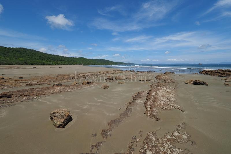 Playa Hermosa, Nicaragua, Midden-Amerika stock foto's
