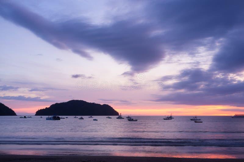 Playa Herradura royalty free stock image