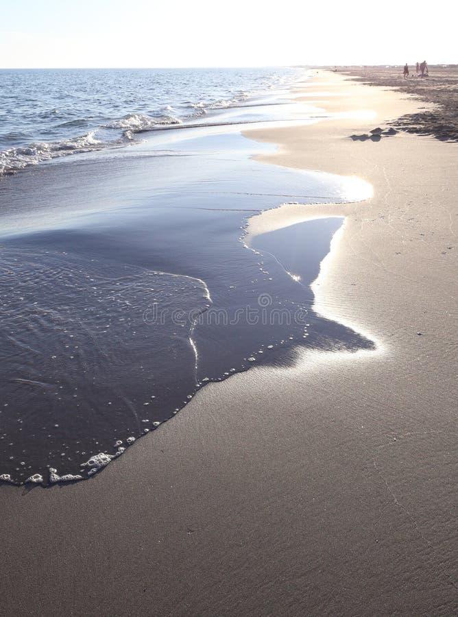 Playa idílica fotos de archivo libres de regalías