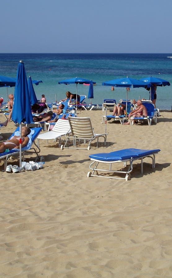 Playa II de Agia Napa fotos de archivo libres de regalías