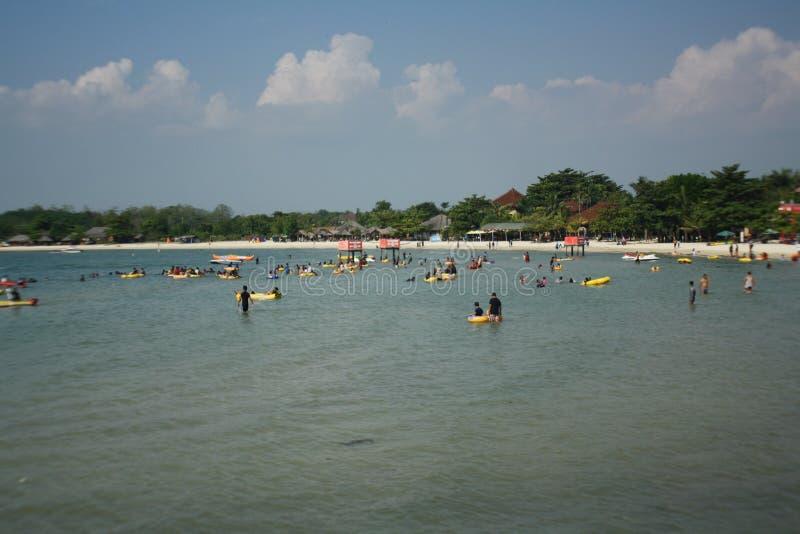 Playa indonesia foto de archivo