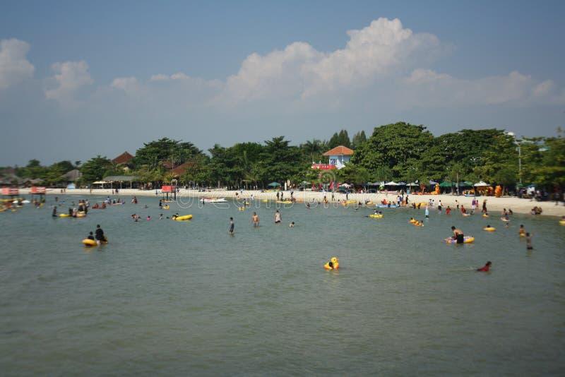 Playa indonesia imagen de archivo