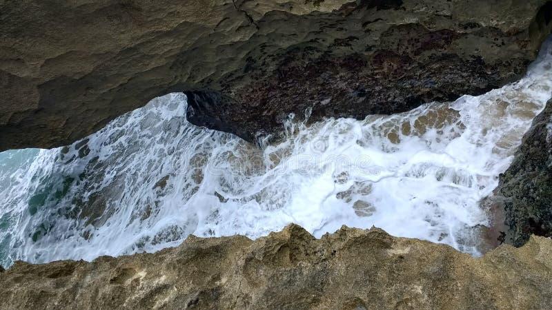 Playa Jobo ` s海滩伊莎贝拉岛波多黎各 库存图片