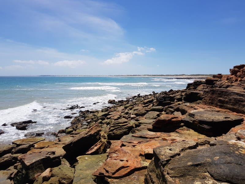 Playa Kimberley Broome Western Australia del cable fotos de archivo libres de regalías