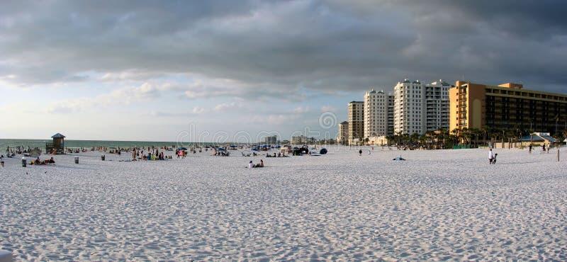 Playa la Florida de Clearwater foto de archivo libre de regalías
