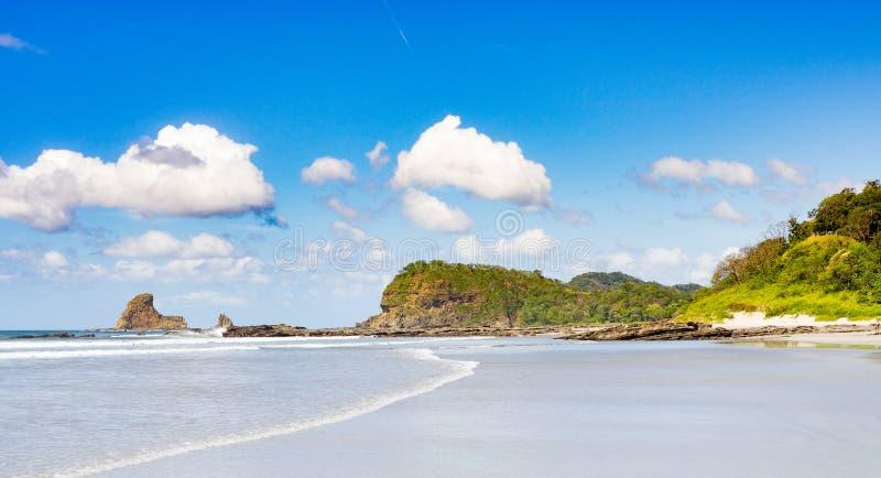 Playa Maderas obraz stock