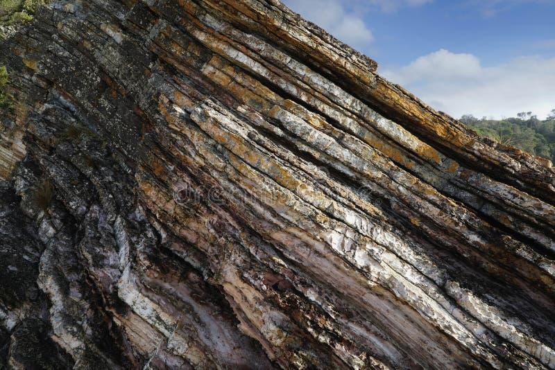 Playa Mallacoota de la mina fotografía de archivo