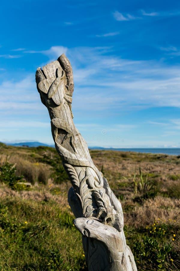 Playa Maori Art foto de archivo libre de regalías