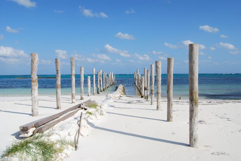 Playa maya de Riviera imágenes de archivo libres de regalías