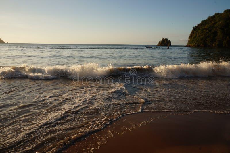 PLAYA MEDINA, playa del Caribe fotos de archivo