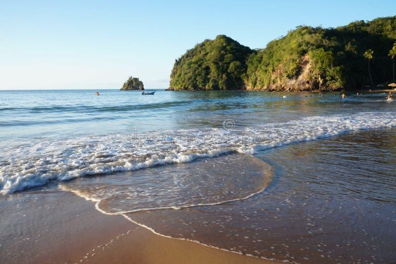 PLAYA MEDINA, playa del Caribe fotografía de archivo libre de regalías