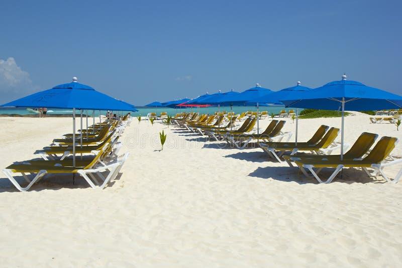Playa Norte in Isla Mujeres, Messico fotografia stock