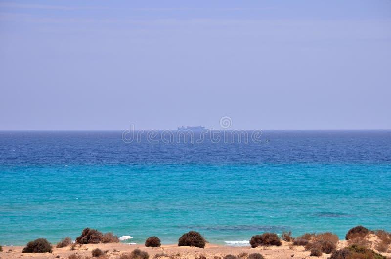 Playa Océano Travesía imagen de archivo