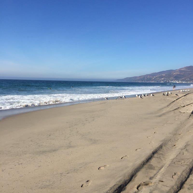 Playa pacífica imagen de archivo libre de regalías