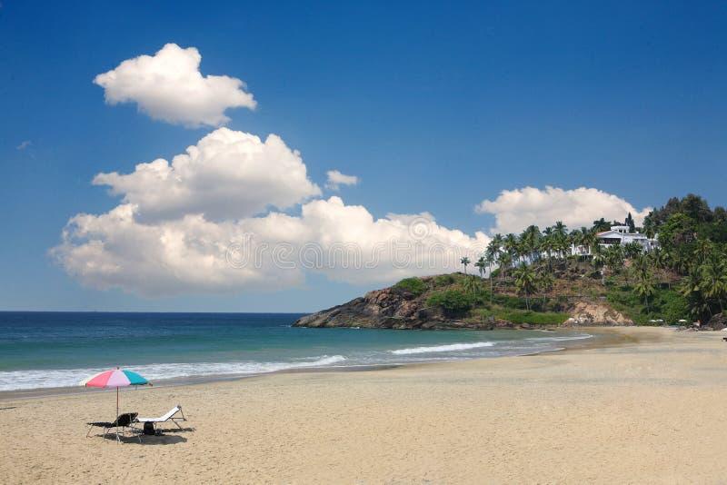 Playa pacífica foto de archivo libre de regalías