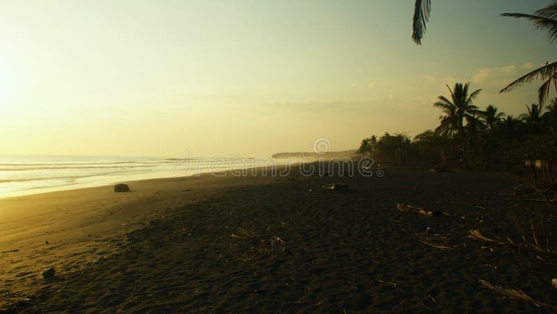 Playa pacífica salvaje 'ostional del playa ', Costa Rica imágenes de archivo libres de regalías