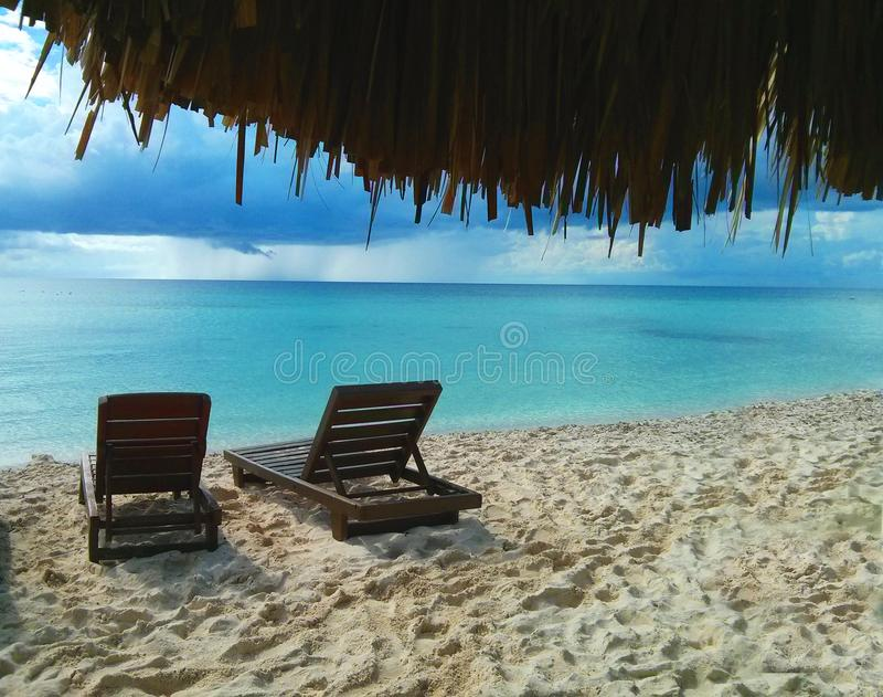 Playa Palancar стоковая фотография rf