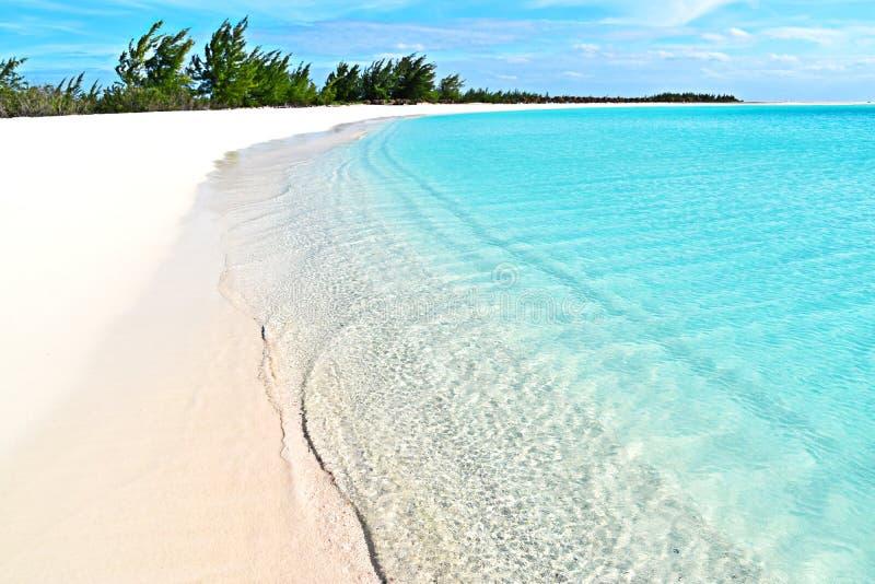 Playa Paraiso, Куба стоковые фотографии rf