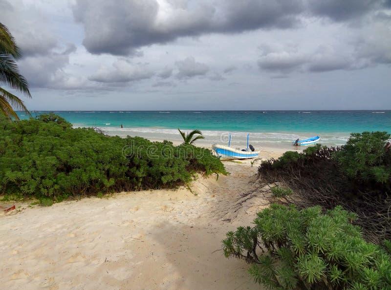 Playa Paraiso royalty free stock photos