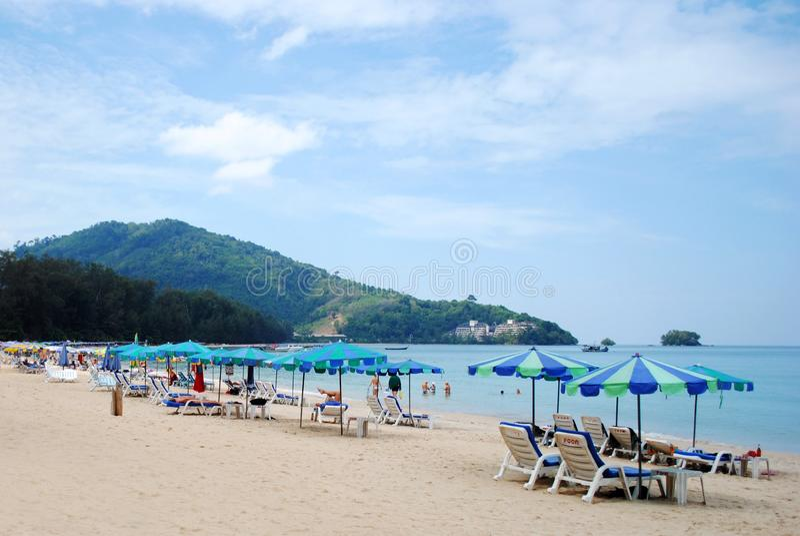 Playa Phuket de Naiyang fotografía de archivo