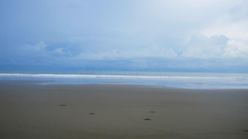 Playa pintada fotos de archivo