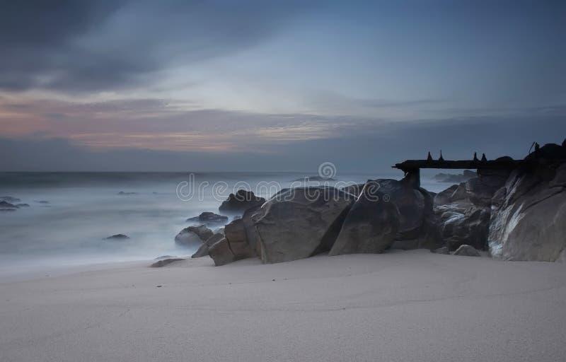 Playa, Portugal fotos de archivo
