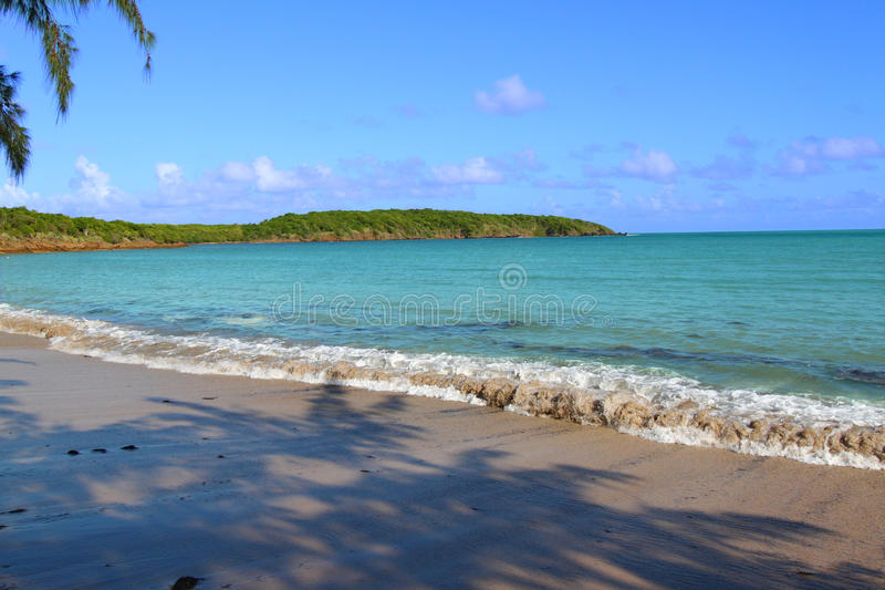 Playa Puerto Rico de siete mares imagen de archivo libre de regalías