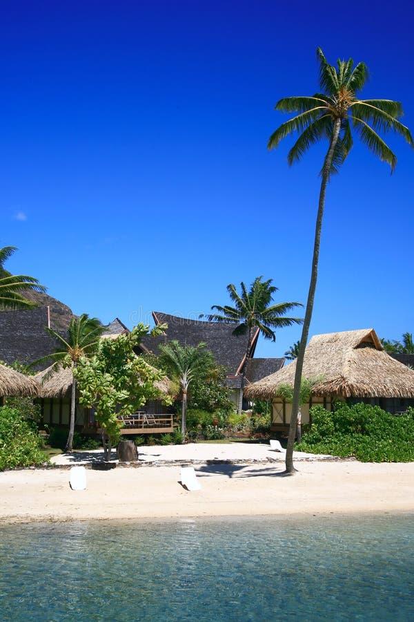 Playa reservada foto de archivo libre de regalías