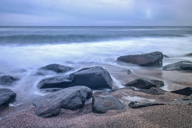 Playa soñadora imágenes de archivo libres de regalías