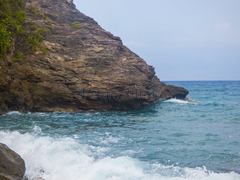 Playa soleada imagen de archivo libre de regalías