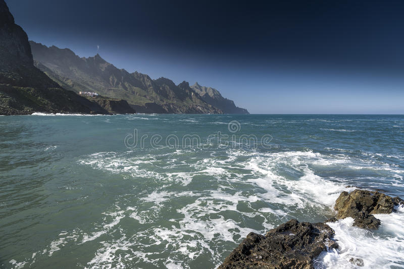 Playa Taganana Ténérife image libre de droits
