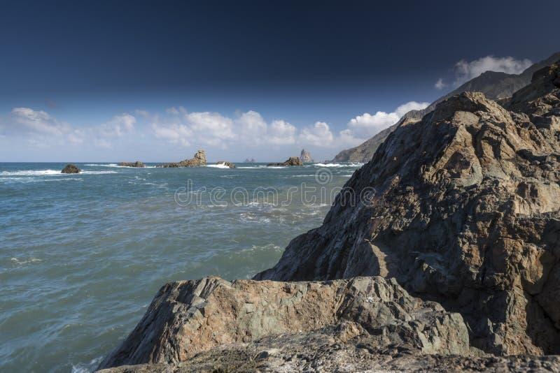 Playa Taganana Ténérife photos libres de droits