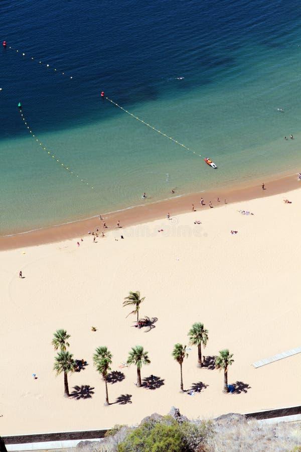 Playa Teresitas, Tenerife obraz royalty free
