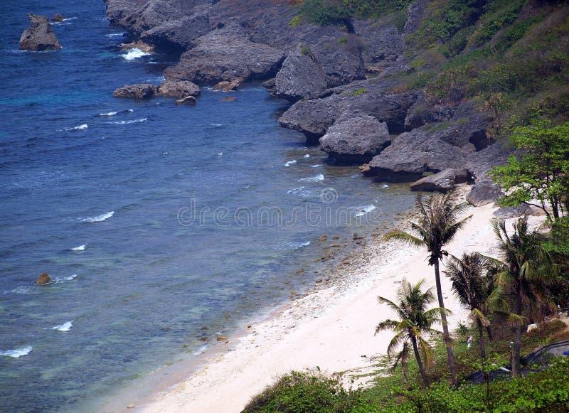Playa tropical en Taiwán meridional imagenes de archivo