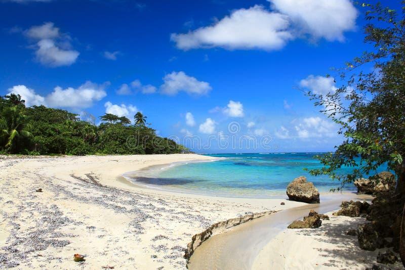 Playa tropical hermosa Maguana, Cuba imágenes de archivo libres de regalías